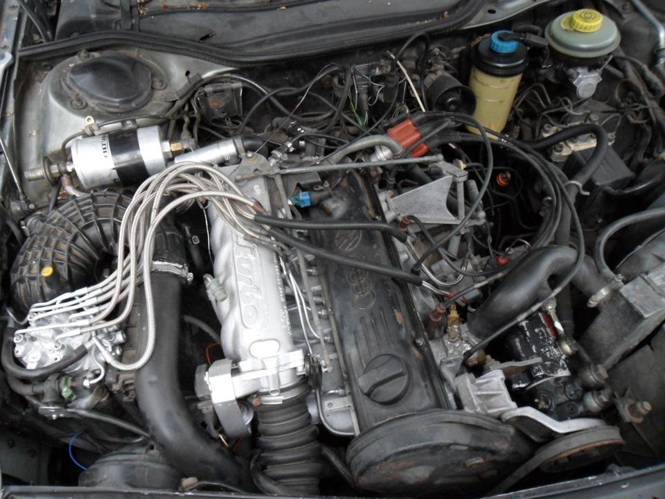 Под капотом у Audi 200 2.1 Turbo
