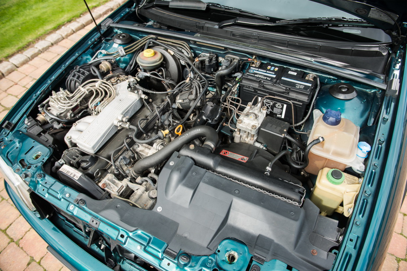 Под капотом у Audi 80 Cabrio