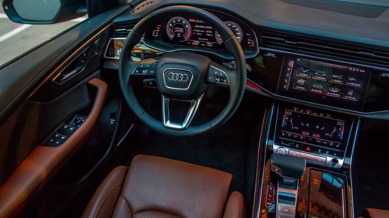 Рулевое управление в Ауди Q8