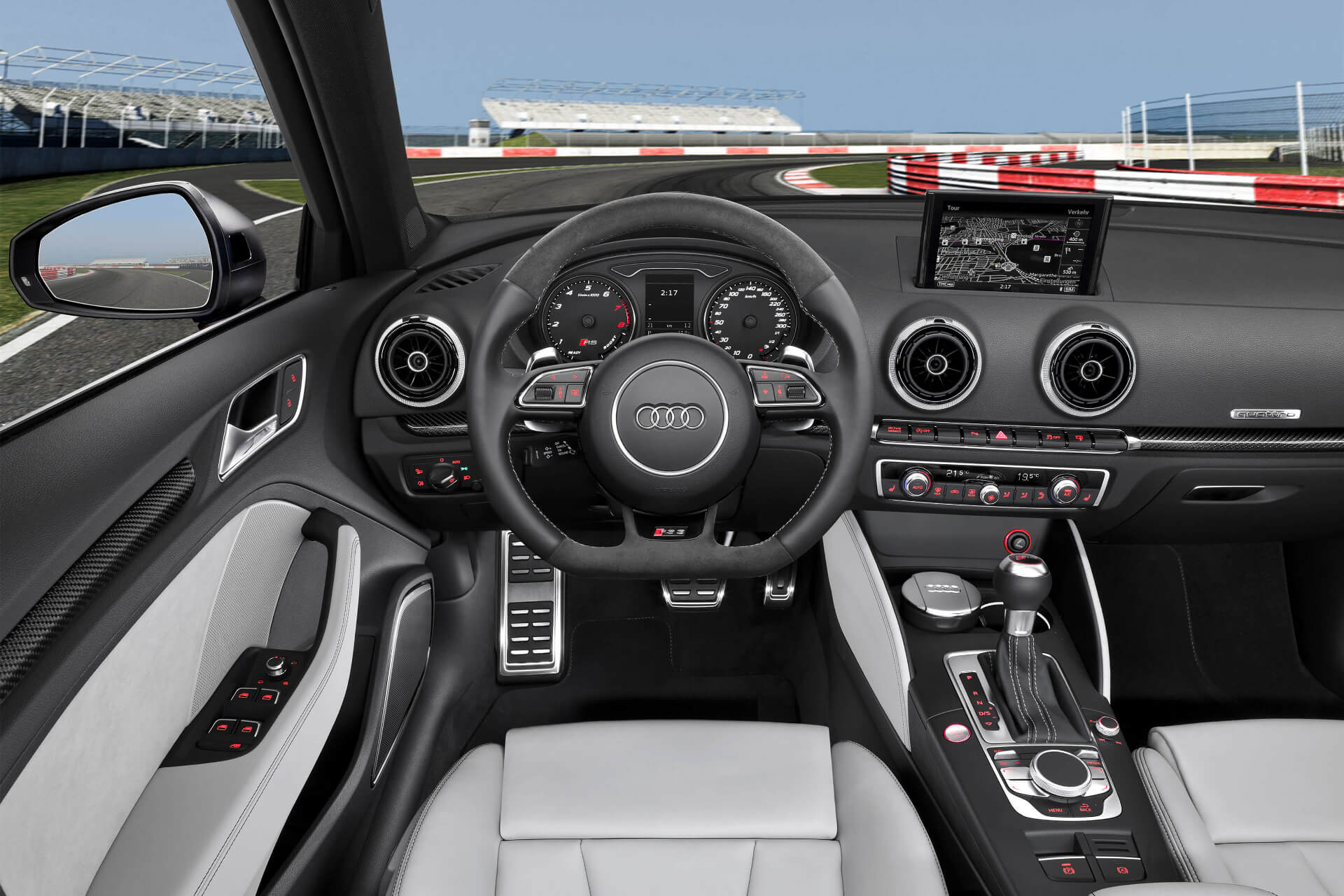Салон Audi RS3 Sportback