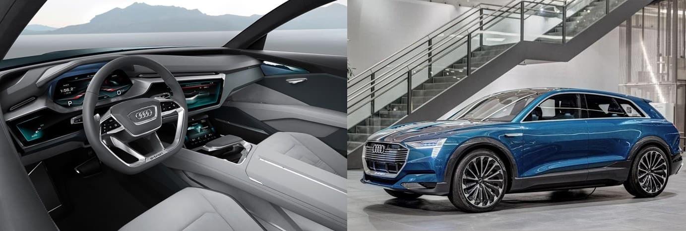 Салон концепт-кара Audi Q6 e-tron quattro