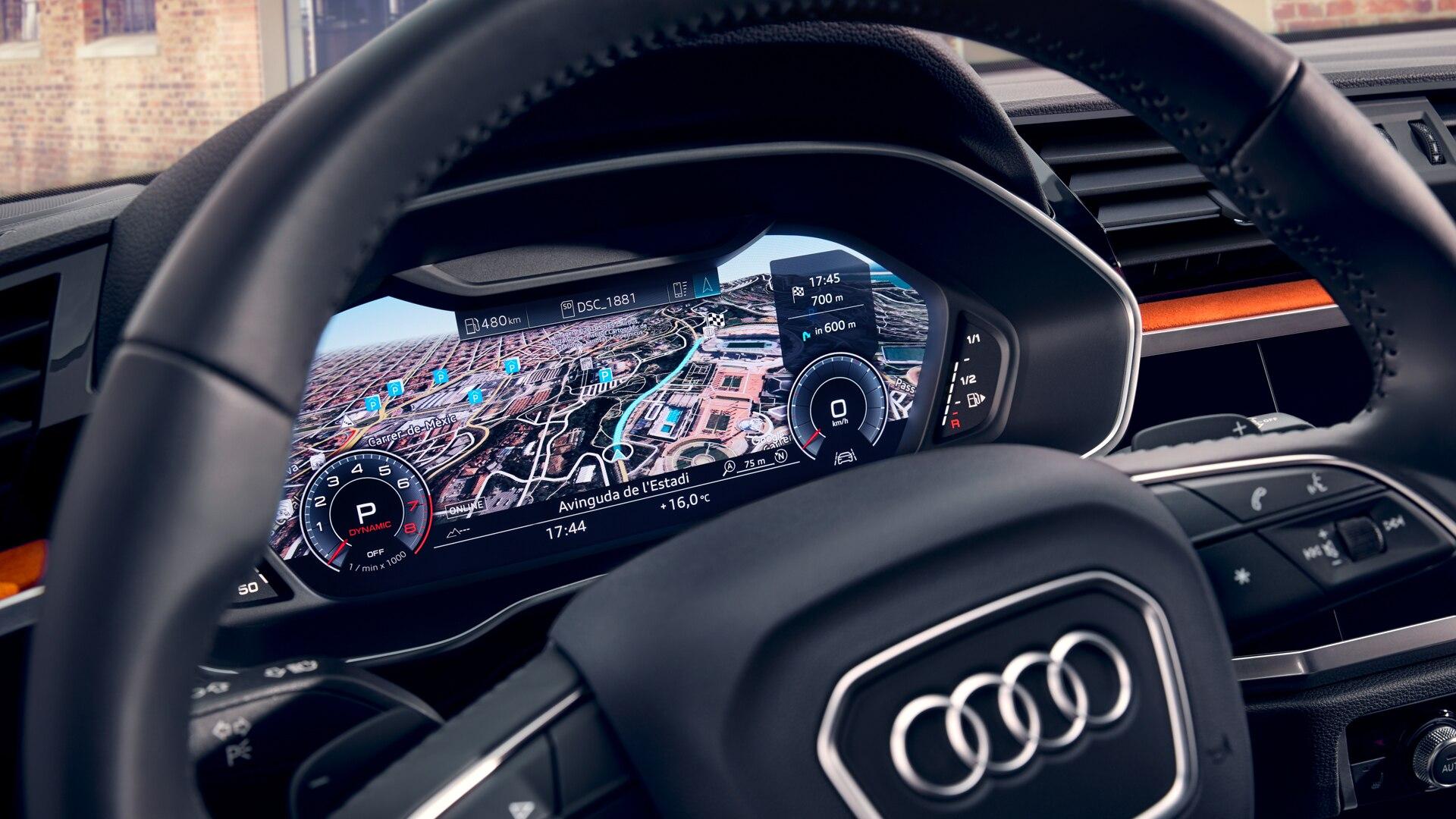 Система навигации в Audi Q3 2019