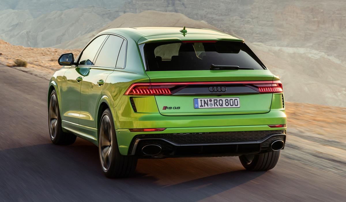 Зад Audi RS Q8