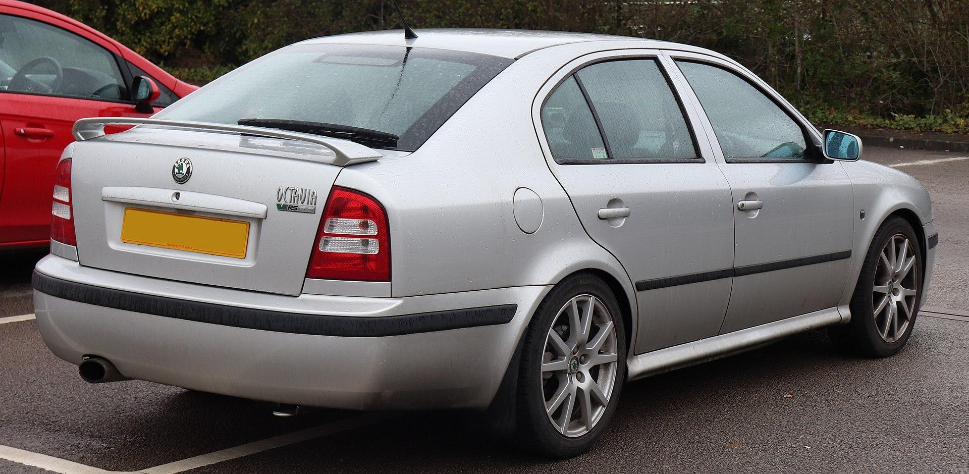 Škoda Octavia RS 1.8T первого поколения после рестайлинга