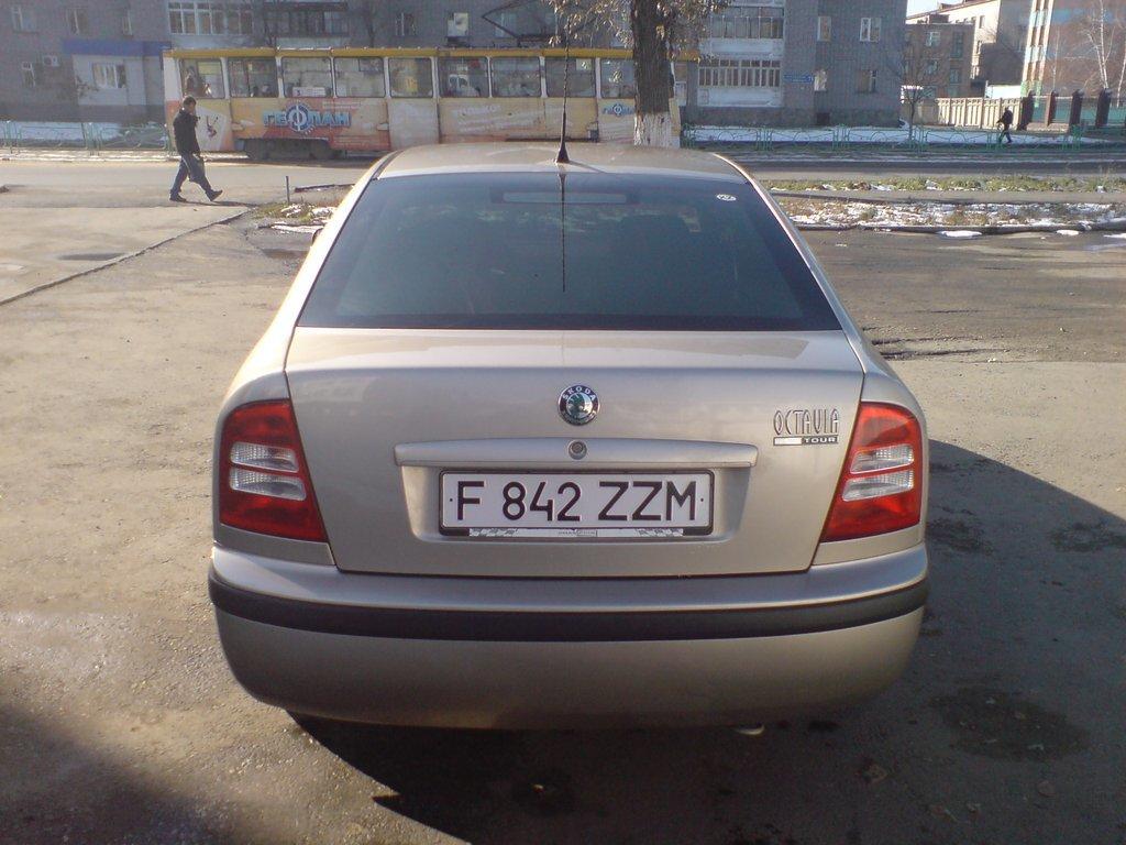Skoda Octavia 2006 (вид сзади)