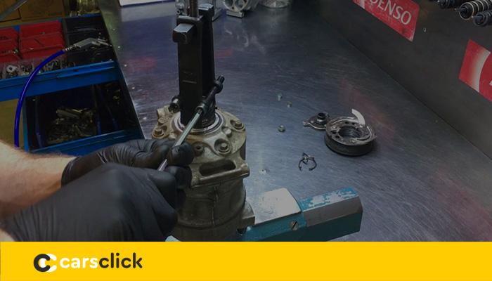 Замена компрессора кондиционера Шкода Октавия А7