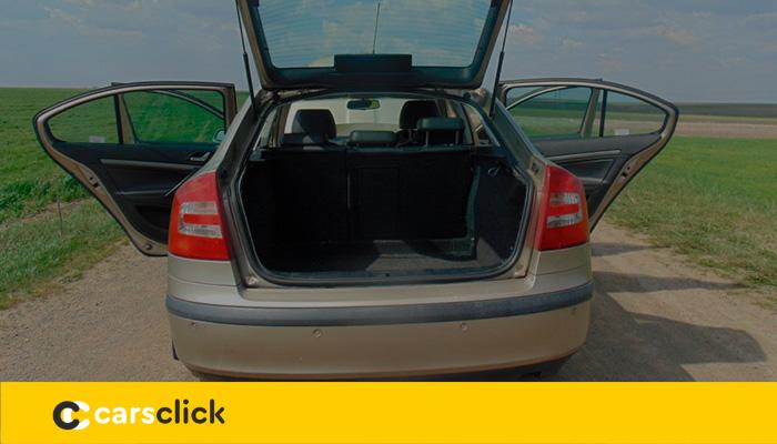 Объём багажника Шкода Октавия А5 и фото