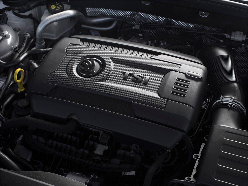 Под капотом у Skoda Octavia RS 2019