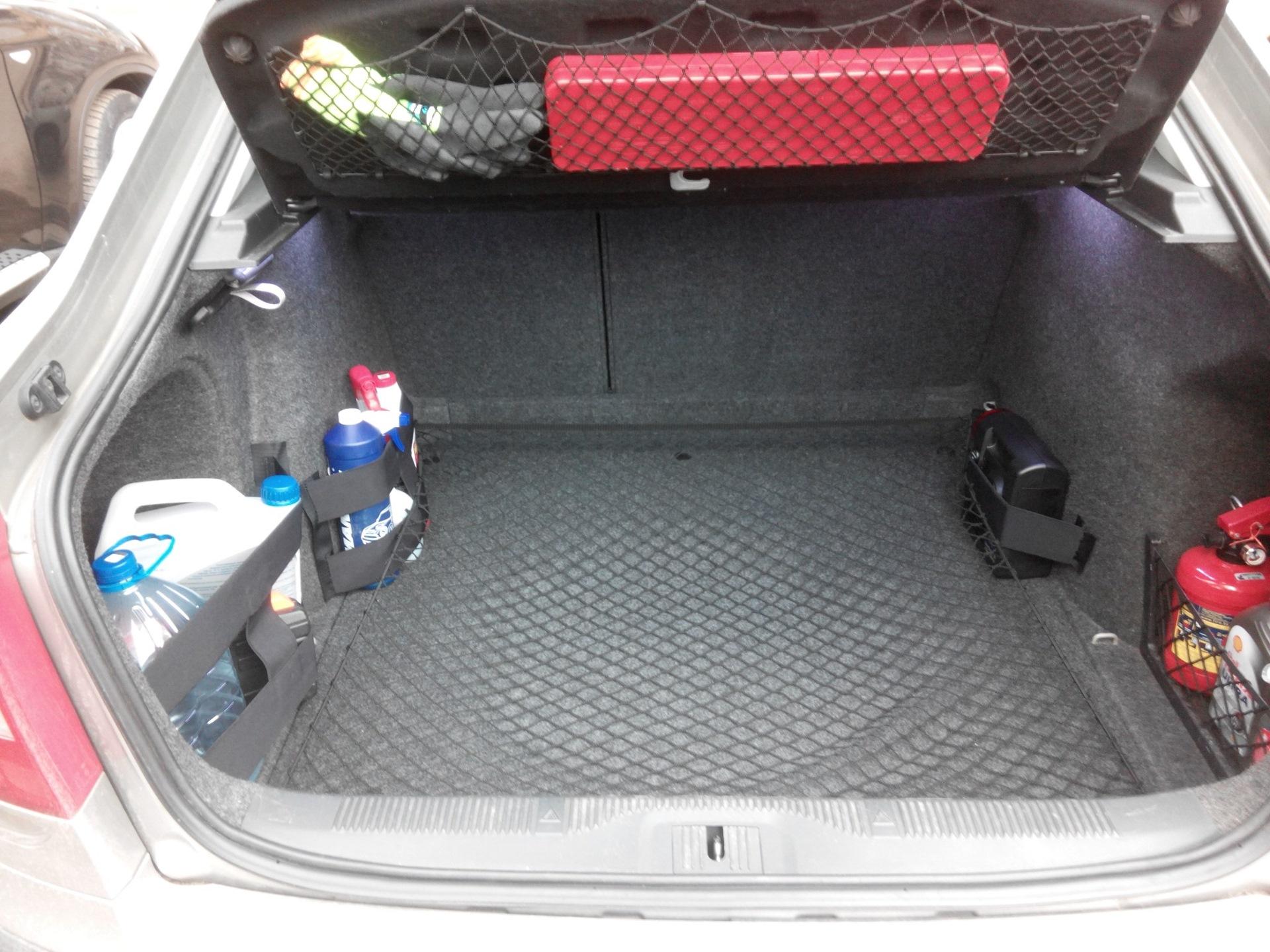 Вместительный багажник в Skoda Octavia A5 FL