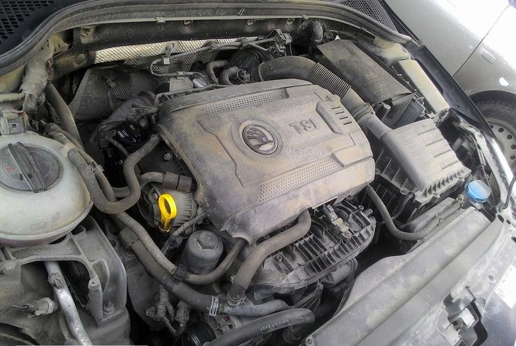 Двигатель TSI в Шкода Октавия