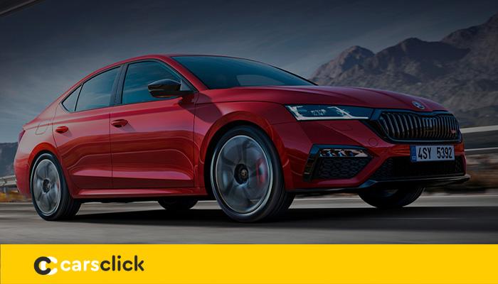 Новый седан Шкода Октавия в гибридно-спортивном исполнении — RS iV