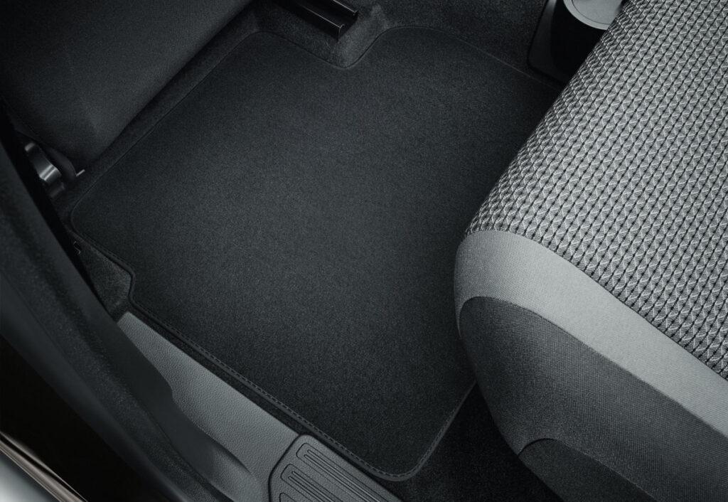 Коврики в салон текстильные (задние) для Шкода Октавия А7