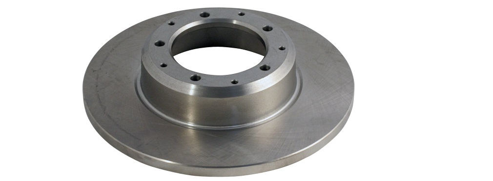 Внешний вид невентилируемых тормозных дисков для Шкода Октавия А7